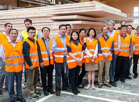 中国向欧洲学习高层木结构建筑技术及标准规范