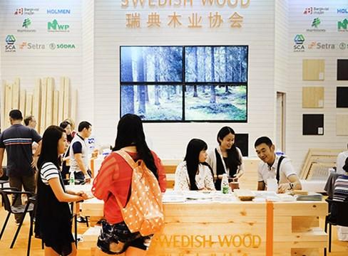 瑞典木材受到中国西部的关注