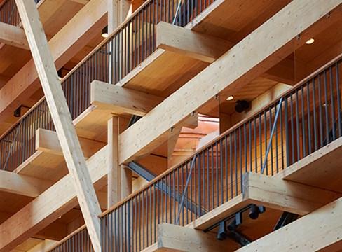大型木材承重结构