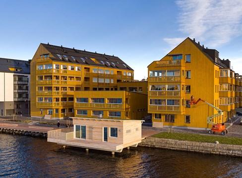 湖边公寓 Sjöbodarna Östersund