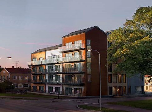 公寓 Tallbocken