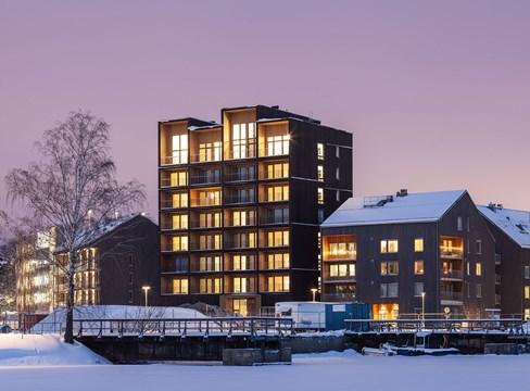 公寓 Västerås Stadskaj