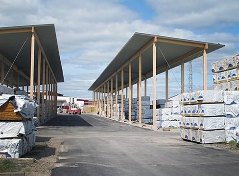 松兹瓦尔Tunadal木材仓