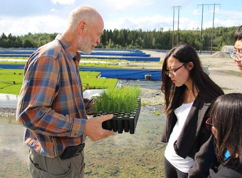 中国学生亲访瑞典探索木材