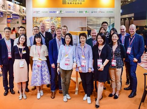 中国国际家具展览会材料精品展表明瑞典锯材在中国家具制造行业的巨大潜力