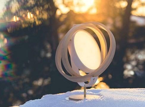 赤松做的灯——老传统,新尝试